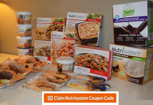 NUTRISYSTEM COUPONS – 40% off Nutrisystem Discount Code