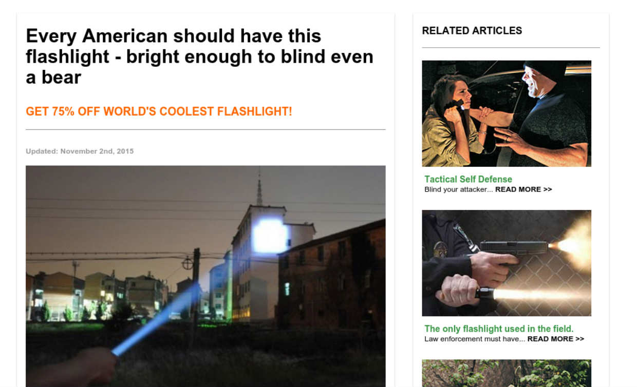 New Military Flashlight Every Family Needs To Know About