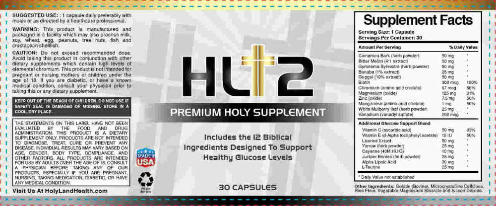 HL12 Supplement Ingredients
