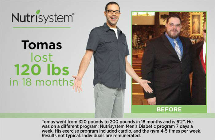 Nutrisystem For Men Reviews Meal Plan To Lose Weight Fast